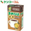 マルサン まめぴよ ココア味 125ml×24本[マルサン 豆乳・豆乳飲料]【mrsn1704】
