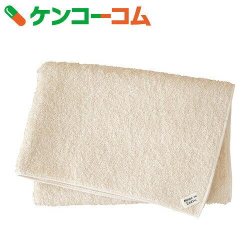 メイドインアース スーピマ純タオル バスタオル きなり 120cm×58cm【送料無料】