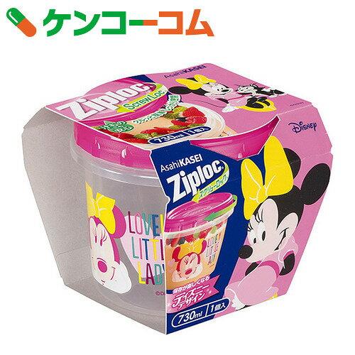 【企画品】ジップロック スクリューロック 730ml ミニーマウス 2017 1個入