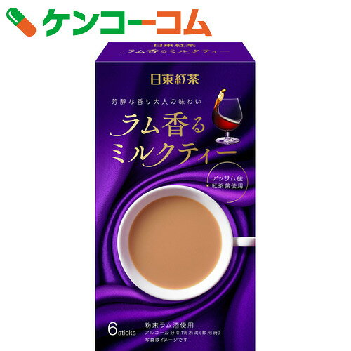 日東紅茶 ラム香るミルクティー 6本入
