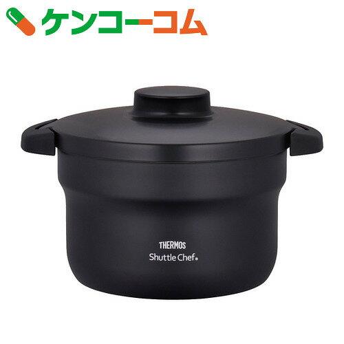 サーモス 真空保温調理器 シャトルシェフ (3-5人用) 2.8L ブラック KBJ-3000 BK【送料無料】
