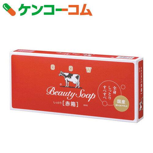 カウブランド 牛乳石鹸 赤箱 100g×6個入