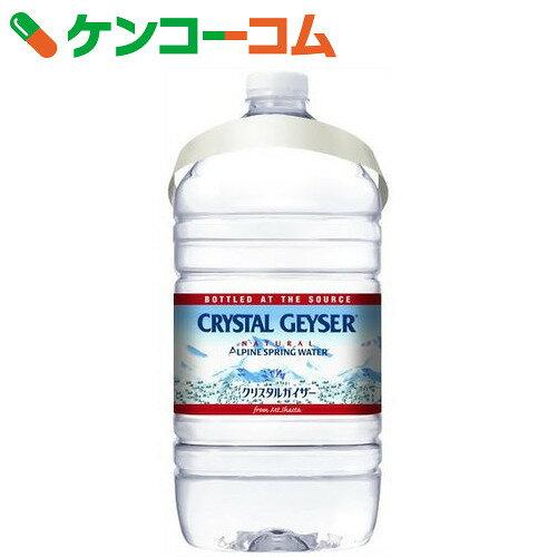 クリスタルガイザー ミネラルウォーター ガロンサイズ 3.78L×6本(正規輸入品)【送料無料】