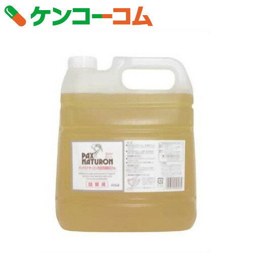 パックスナチュロン 洗濯用液体石けん 詰替用 4000ml
