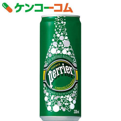 ペリエ 炭酸水 330ml×24缶(正規輸入品)【送料無料】
