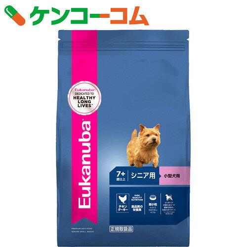 ユーカヌバ チキンベース シニア用 小型犬用 7歳以上 7.5kg【14_k】【送料無料】