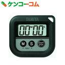 タニタ 丸洗いタイマー100分計 TD-376-BK ブラック[タニタ キッチンタイマー]
