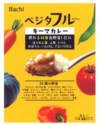 ハチ食品 ベジタフル キーマカレー 180g (インスタント食品 ハチ カレー レトルト レトルト食品 レトルトカレー)