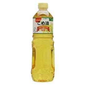 築野食品 こめ油 1000g (こめあぶら コメ油 米油)