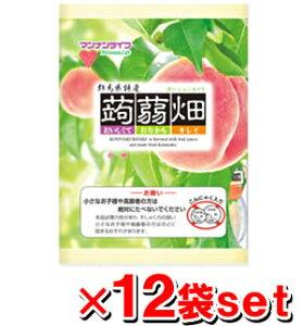 マンナンライフ 蒟蒻畑 白桃味  25g x 12個入x12袋 (蒟蒻ゼリー こんにゃくゼリー)