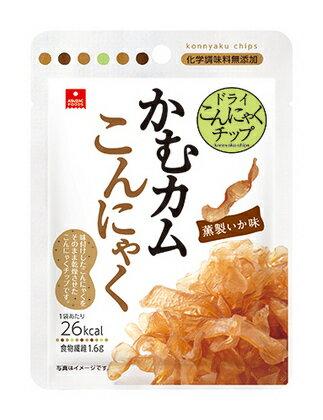 アスザックフーズ かむカムこんにゃく薫製いか味 10g