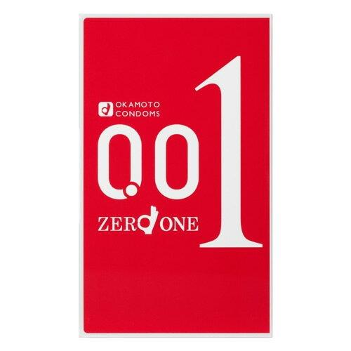 ▼マラソンで使えるクーポン配布中!▼オカモト ゼロワン(001) 3個入り [okamoto][コンドーム][0.01ミリ]【0.01mm】 コンドーム 避妊具
