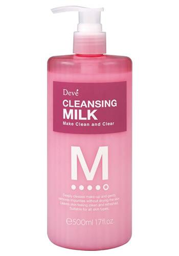 [熊野油脂]ディブ クレンジングミルク 500mL (Deve デイブ)