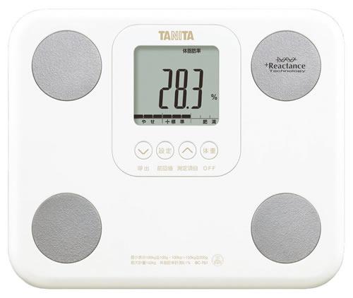 【訳あり!外装の汚れあり】タニタ 体組成計 BC-751-WH(ホワイト) 体内年齢表示/筋肉量測定/A4サイズ・880gの小型軽量モデル TANITA[返品・交換不可]