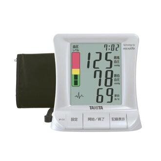 ▼쿠폰 배포중▼[타니타]디지털 혈압계 상완식 펄 화이트 BP220-PR