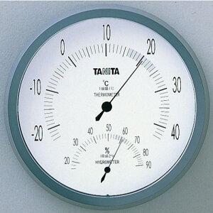[タニタ]温度計 温湿度計 TT-492 Nグレー