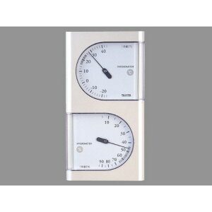 [タニタ]温度計 温湿度計 TT-518 パールホワイト