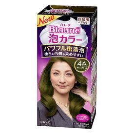 ブローネ 泡カラー 4A アッシュブラウン 【J】 (ヘアカラー 白髪染め 女性用)