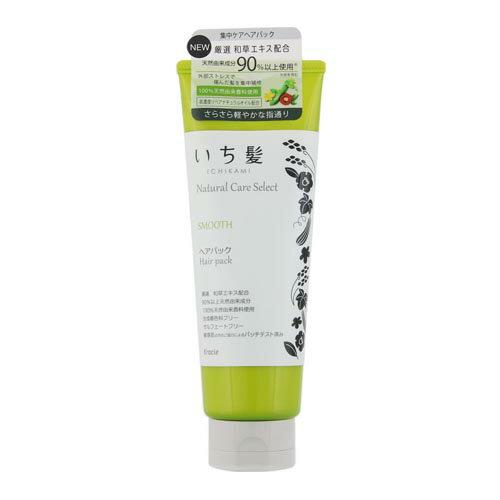 いち髪ナチュラルケアセレクト スムース(サラサラ軽やかな指通り) ヘアパック180g ハーバルグリーンの香り クラシエ(Kracie)