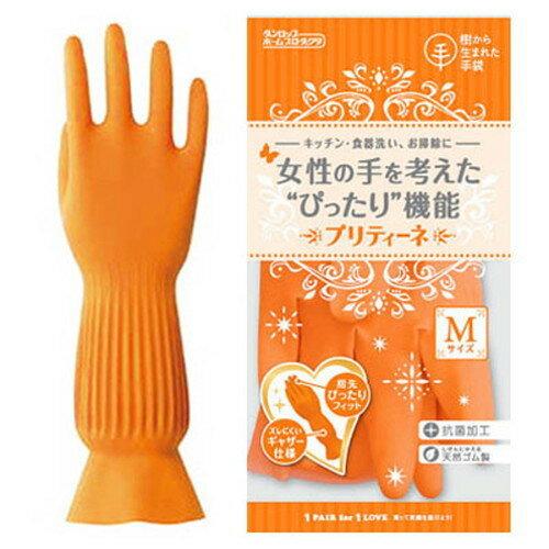 【ゆうメール便!送料80円】[ダンロップホームプロダクツ]プリティーネ オレンジ M