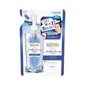 [マンダム]Bifesta(ビフェスタ) ミセラークレンジングウォーター ブライトアップ つめかえ用 ふき取りタイプ 毛穴 ・ 角質 クリア 化粧水由来 オイルフリー 無香料 360mL