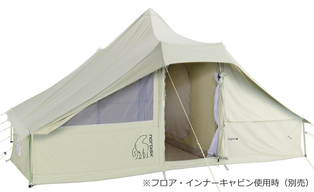 NORDISK コットンテント Utgard 13.2 JP (ウトガルド13.2本体)[142010][242010](アウトドア キャンプ用品 ノルディスク テント tent 6〜8人用)