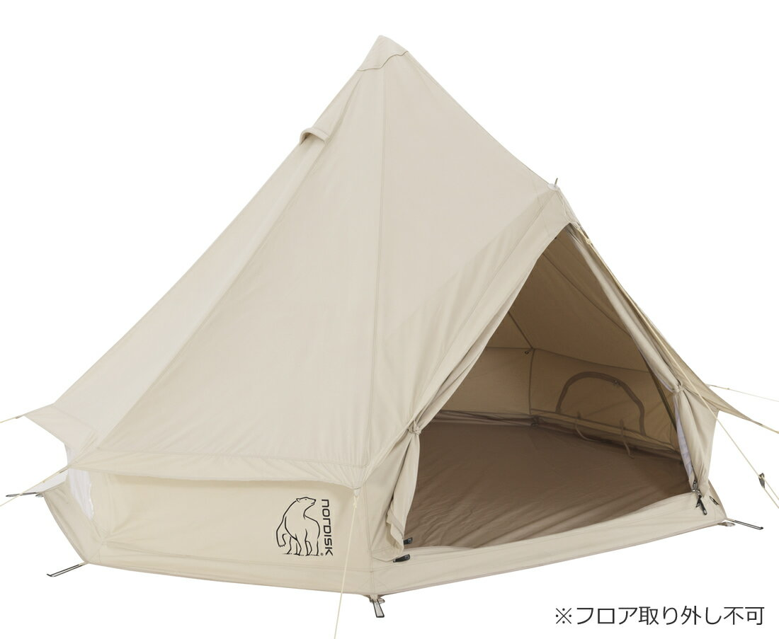 NORDISK Asgard 7.1 JP(アスガルド7.1本体)[2014年モデル]【3人用パオ型コットンテント】[142012][242012](アウトドア キャンプ用品 ノルディスク テント パオ型)【kenko1710】