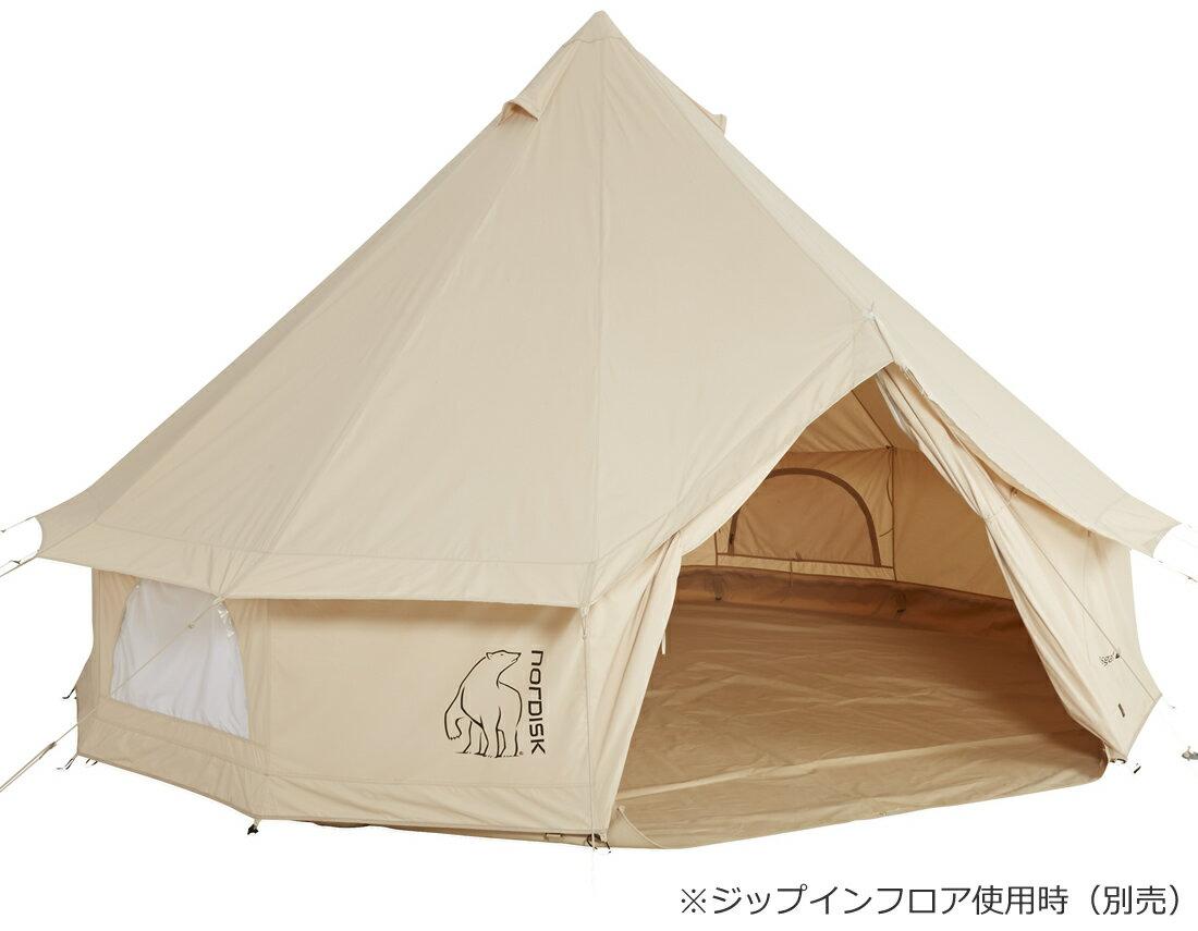 NORDISK Asgard 12.6(アスガルド12.6本体)[2014年モデル]【6人用パオ型コットンテント】[142023][242023](グランピング ノルディスク テント アスガルド 6人用 キャンプ用品 テント)[アウトドア用品]