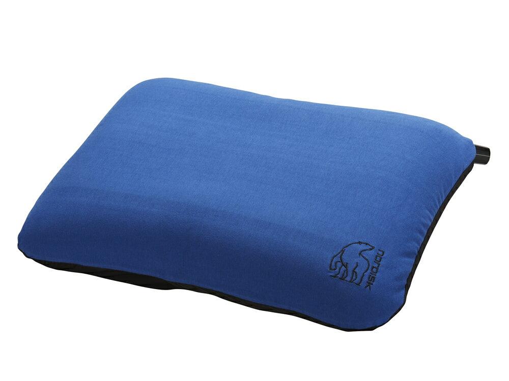 ノルディスク ピロー ナット NORDISK Nat Square Pillow Limoges Blue/Black[114039] (キャンプ用品 アウトドア)【kenko1710】