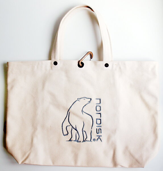 ▼マラソンで使えるクーポン配布中!▼【国内正規品】NORDISK バッグ Tote Cotton Bag (トート・コットン・バッグ) [143003](ノルディスク トートバッグ アウトドア キャンプ用品)【SUMMER_D18】
