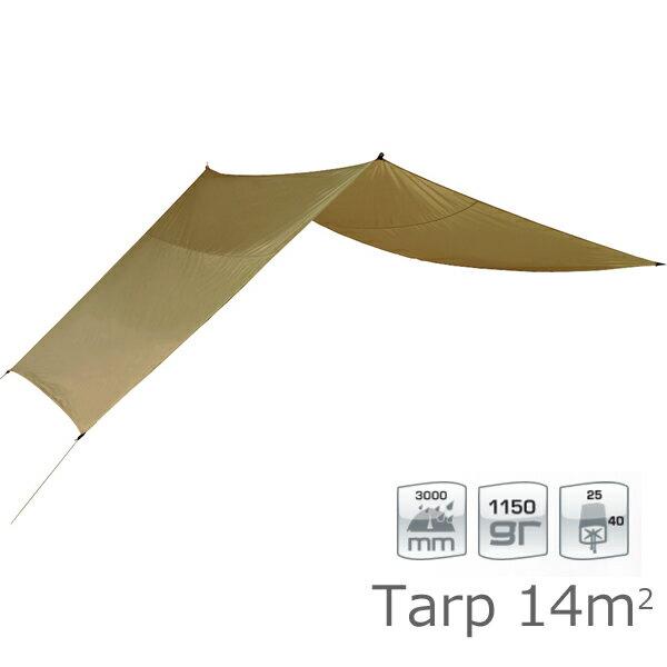 【国内正規品】ノルディスク NORDISK タープ Voss 14 PU ベージュ [122041]