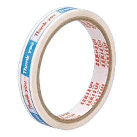 【ゆうパケット配送対象】まいどテープ [C50X13] 1巻 本体色:白(販売確認用テープ レジ用品)(ポスト投函 追跡ありメール便)
