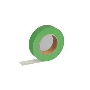 【ゆうパケット配送対象】紙自着テープ 緑 15mm幅 x 20m [テープカッター付き] x 1巻入り(ノリが付かない不思議な紙テープ)(ポスト投函 追跡ありメール便)