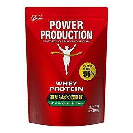 グリコ パワープロダクション ホエイプロテイン 800g プレーン味
