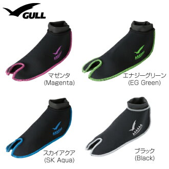 ▼P up to 36 times & coupon festival! It is ▼ GULL (gal) fin socks II 2mm man and woman combined use [GA-5624] until 8/10 1:59