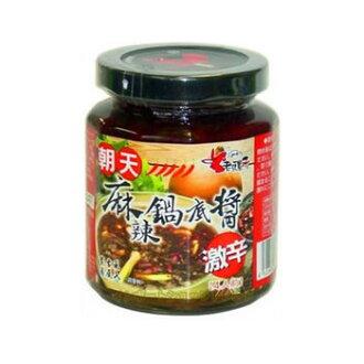 Bare 260 g of 老騾子朝天麻辣鍋底醤激辛鍋