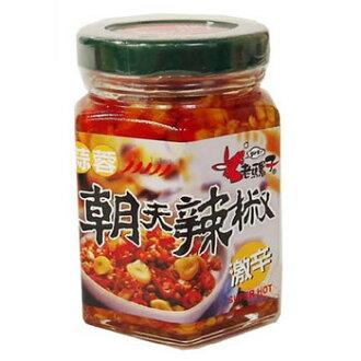 105 g of sharp taste seasonings with 老騾子蒜蓉朝天辣椒 garlic