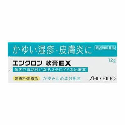 【第(2)類医薬品】資生堂 エンクロン軟膏EX 12g【SM】【資生堂薬品】