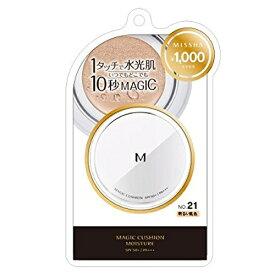 ミシャ Мクッション ファンデーション モイスチャータイプ No.21 明るい肌色 15g(韓国コスメ)