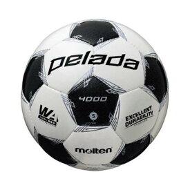 モルテン(Molten) サッカーボール5号球 ペレーダ4000 ホワイト×メタリックブラック