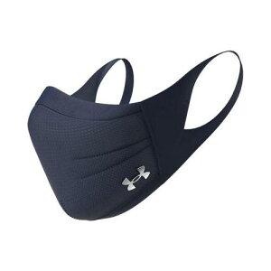 【ゆうパケット配送!送料無料】UNDER ARMOUR(アンダーアーマー) スポーツマスク 410(MDN) ネイビー UA Sports Mask 1368010(ポスト投函 追跡ありメール便)