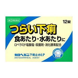 【第(2)類医薬品】【ゆうメール便!送料80円】ガロヘパン下痢止めLP 12錠【SM】