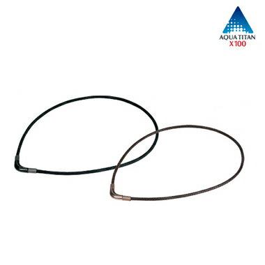 【送料無料】ファイテンRAKUWAネックX100チョッパーモデル ブラック 50cm【送料無料】(RAKUWA X50 X100 ネック ファイテン ネックレス ファイテン 磁気ネックレス チタンネックレス)