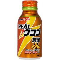 コカコーラ リアルウコン炭酸 100ml (クルクミン30mg+アラニン5100mg+アルギニン400mg配合)ウコン (ウコン ドリンク エキス 飲料 うこん)