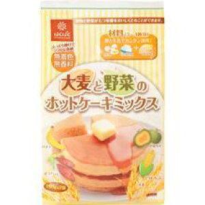 はくばく 大麦と野菜のホットケーキミックス(150g×2個)