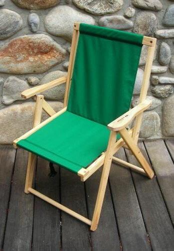 Blue Ridge Chair Works(ブルーリッジチェアワークス)ハイランドデッキチェア フォレストグリーン [DFCH05WF](アウトドア キャンプ チェア 椅子 いす イス 折りたたみ 折り畳み アウトドア用品)