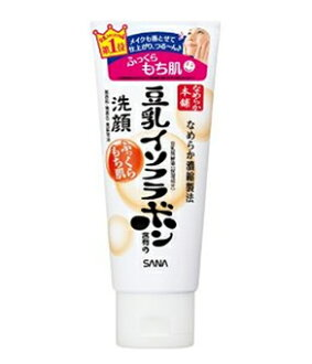 日本 SANA 莎娜 天然豆乳美肌细滑洗面奶150ml 美白 保湿 控油 upup7