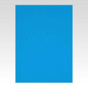 ニューカラーボード [BP-5CB-A2-BL] 1枚 本体色:ブルー (発泡スチロールボード)