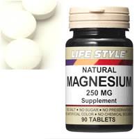LIFE STYLE(ライフスタイル) マグネシウム 250mg 90粒入[タブレット](MAGNESIUM サプリメント)