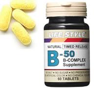 ▼スーパーセール!クーポン配布中▼LIFE STYLE(ライフスタイル) ビタミンB-50コンプレックス 60粒入[タブレット][エープライム][サプリメント][B群][0715124023100] (ライフスタイル ビタミン)